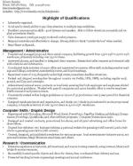 general resume skills